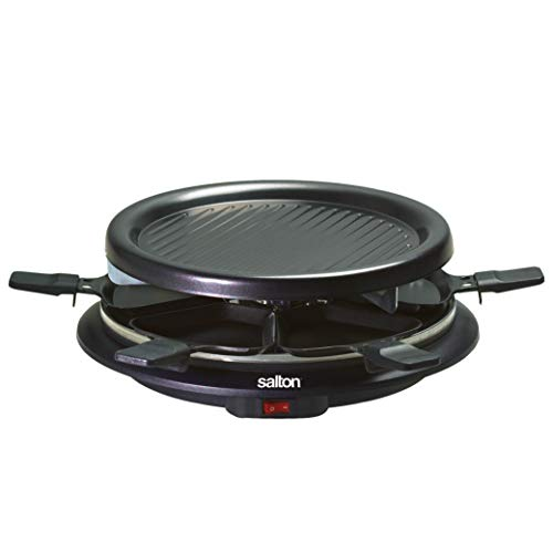 2. Salton TPG-315 6-Person Nonstick and Raclette