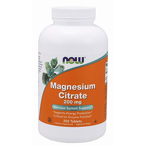 4. NOW Magnesium Citrate