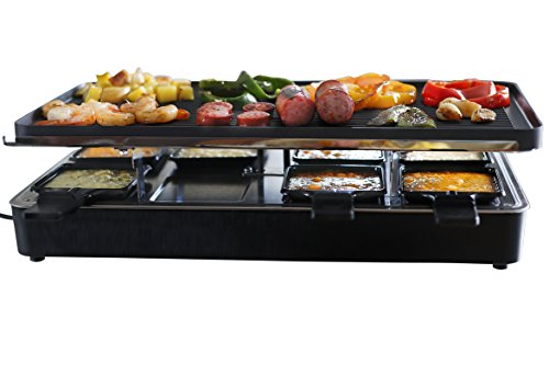 3. Milliard Raclette Grill for Eight People
