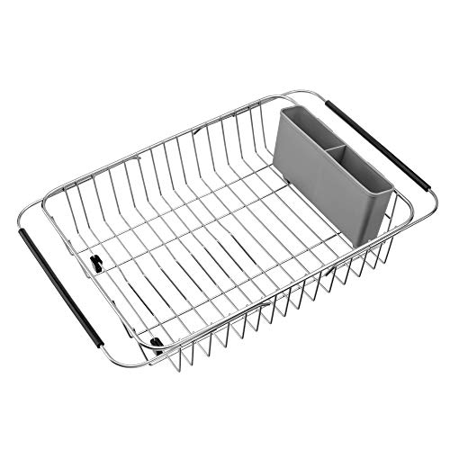 SANNO Over The Sink Expandable Dish Drying Rack