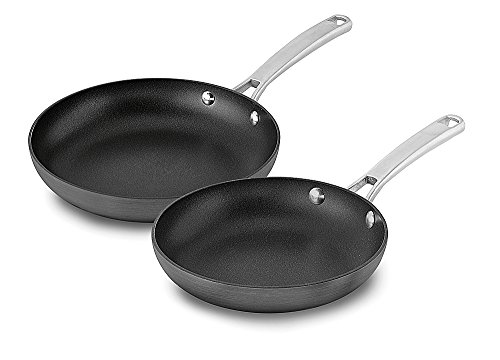 3. Calphalon 2 Piece Classic Nonstick Frying Pan Set