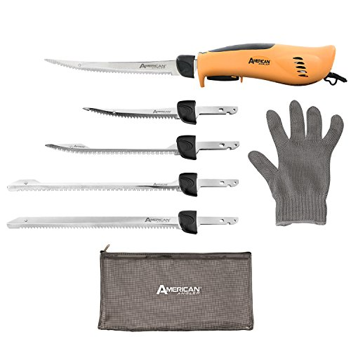 2. American Angler PRO Professional Grade Electric Fillet Knife Sportsmen's Kit