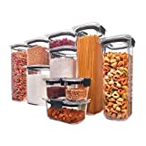 3. Rubbermaid Brilliance Pantry Organization & Food Storage Containers with Airtight Lids