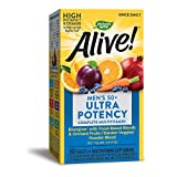 2. Nature's Way Alive Once Daily Men's 50+ Ultra Potency Tablet