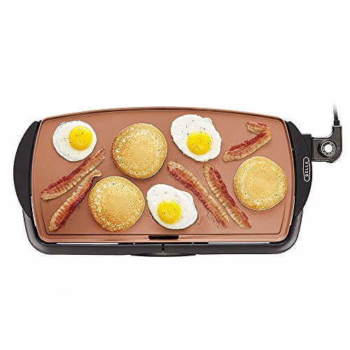 3. BELLA Electric Ceramic Titanium Griddle