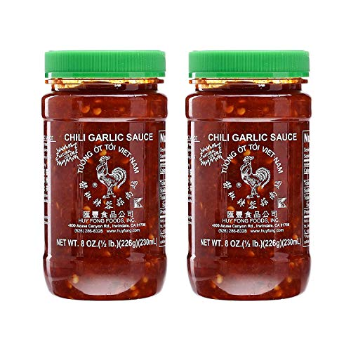 Huy Fong Vietnamese Chili Garlic Sauce, 8 Oz. (Pack of 2)