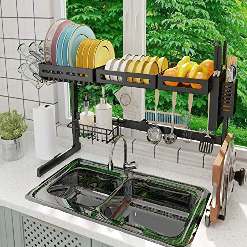 ADBIU Over The Sink Dish Drying Rack