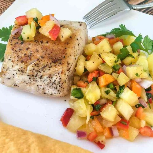 Sous Vide Swordfish Steaks