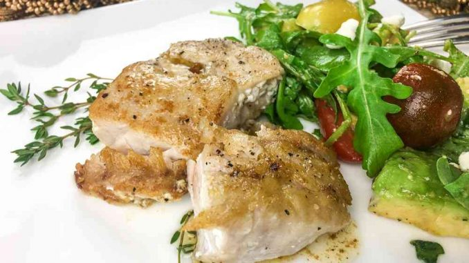 Seared Grouper Recipe