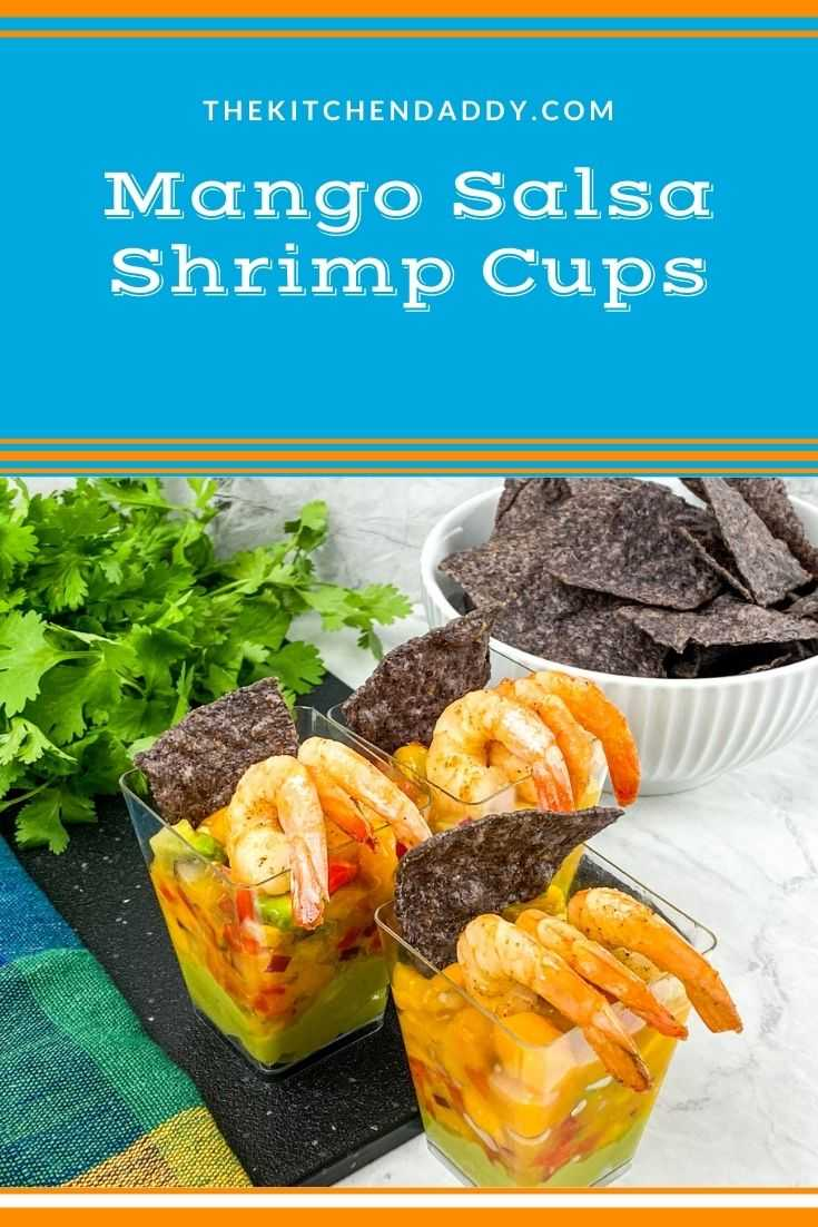 Mango Salsa Shrimp Cups