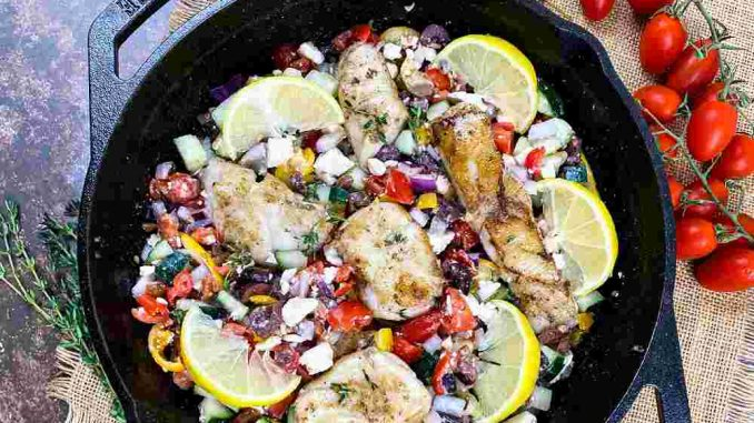 Mediterranean Grouper recipe