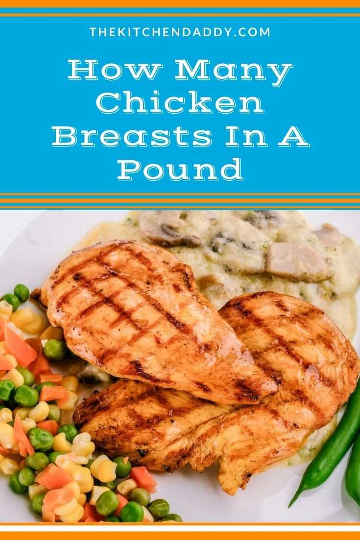 How Many Chicken Breasts In A Pound