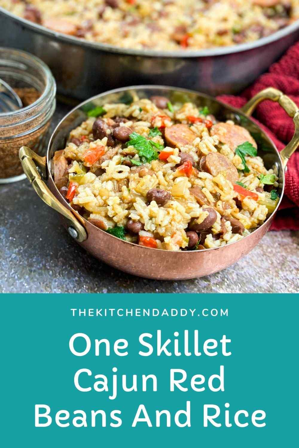 One Skillet Cajun Red Beans And Rice